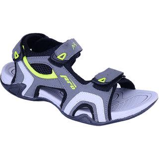 Khadims Pro Grey Mens Floater Sandal