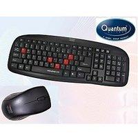 Quantum QHM8899 Multimedia Combo Keyboard PS2+Mouse USB