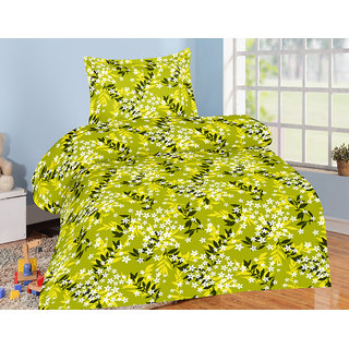 Jiya Decor 100 Cotton Single Bed Sheet With 1 Pillow Cover(S-ELG1067)
