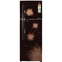 LG 335 Ltr. GL-D372JHSL Frost Free Double Door Refrigerator Hazel spring