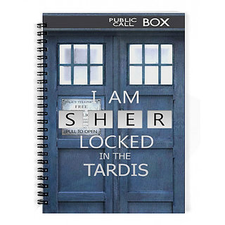 The Fappy Store Sherlocked In The Tardis Notebook
