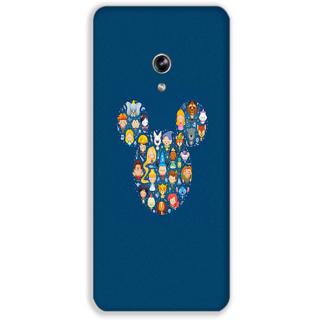 Mott2 Back Case For Asus Zenfone 5 Zenfone- 5-Hs06 (71) -15465
