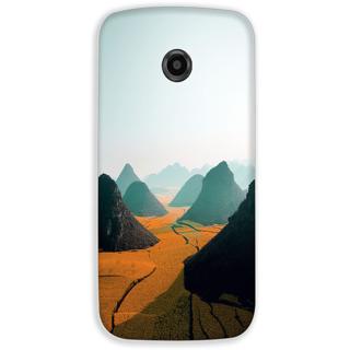 Mott2 Back Cover For Motorola Moto E2 Moto E-2-Hs05 (125) -20951