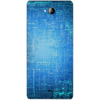 Mott2 Back Cover For Micromax Canvas Play Q355 Micromax Canvas Play Q355-Hs05 (225) -20584
