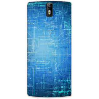 Mott2 Back Cover For Oneplus One One Plus One-Hs05 (225) -22495