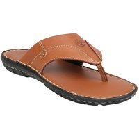 Ventoland MenS Tan Slip-On Sandals (GWVLF-0052)