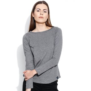 Cult Fiction-Boat neck full sleeves tee