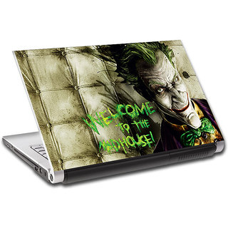 Topins Joker Batman Welcome to the mad house Laptop Skin