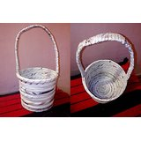 Ring Basket With Handle Plain