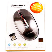 Lenovo N3903 USB Wireless Mouse With ON/OFF Switch,Self-Sleep Funtion Metal_T4M4 - 2614194