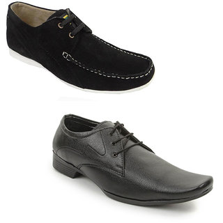 Kewl Instyle Men's Black Lifestyle Casual Shoes [CLONE]