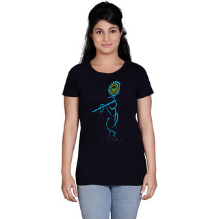 Tantra Krishna - LT Multicolour Round Neck Longtees for Women
