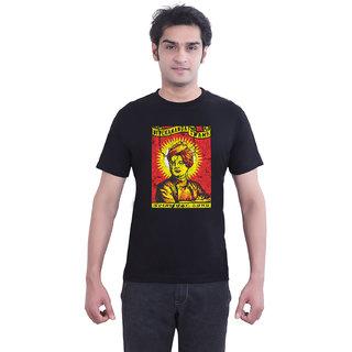 TantraSwami - TA Black Crew Neck T-Shirt for Men