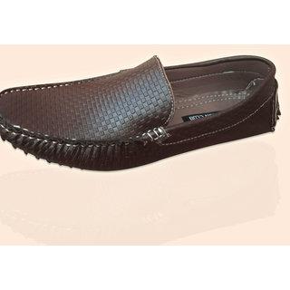 Lt Brown Leather Loafer