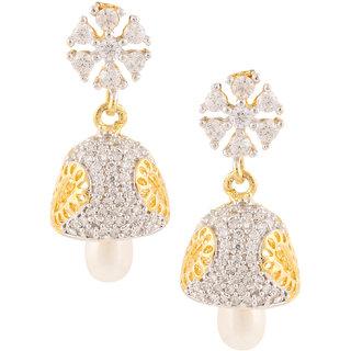Archi Collection Designer Gold Plated Jhumki