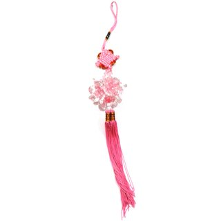 Attractive Crystal flower beads bunch Amulet car door wall hanging