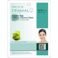 Green Tea Collagen Essence Face Mask For Instant Glow Pack Of 5
