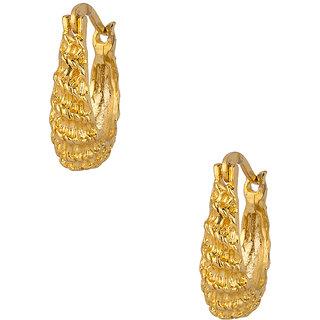 Gold Plated Pretty Little Hoop Earrings