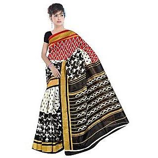 Lovely Look Multi Printed Saree LLKGPS5176