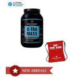 British Nutrition Xtra Mass Vanilla 5 Kg  Free Gym Bag