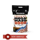 Weider Super Mega Mass 2000 11 Lbs Strawberry