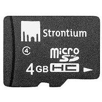 Strontium 4GB MicroSD Card (Class 4)