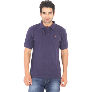 Wrangler Blue Colored Polo T-Shirt For Men