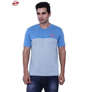Wrangler Blue Bruce Tee T-Shirt For Men