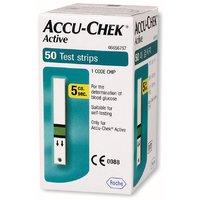 Accu-Chek Active 50 Test Strips, Expiry July 2017