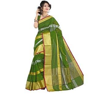 Uppada Pattu Sarees  Women Kanchipuram Art Silk