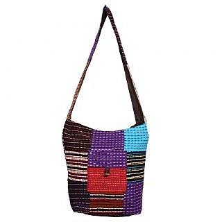 Rib dari tukdi work Jhola hand bag