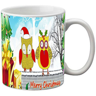 jackson Multi Color Christmas Mug