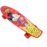 Mickey Skate Board, Red  Yellow, Acd41232-A