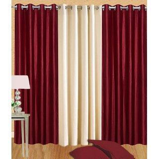 JBG Home Store Set of 3 Long Door Curtains(4x9ft): Buy JBG Home ...
