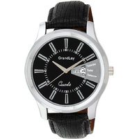 GRANDLAY GL-1074 BLACK WITH DATETIME WATCH FOR MEN