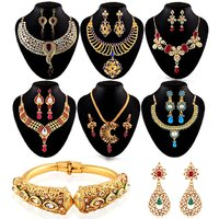 Wedding Jewellery Collection By Shital  Set Of 8