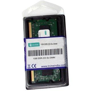Irvine 1 GB DDR - 333 Mhz RAM Memory Module For Laptops