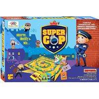 Board Games - Super COP Board Game - Board Games For Kids , Toys & Games - 2620972