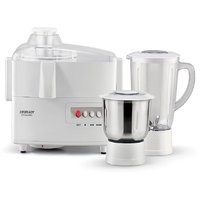 Eveready Dynamo 450-Watt Juicer Mixer Grinder (White)