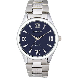 GRANDLAY GL-1077 BLUE UNIQUE WATCH FOR MEN