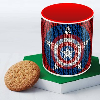 Captain America red art Mug Officially Licensed (pack of 1)