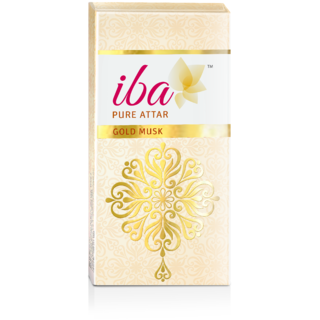 Iba Halal Care Pure Attar - Gold Musk 10 ml