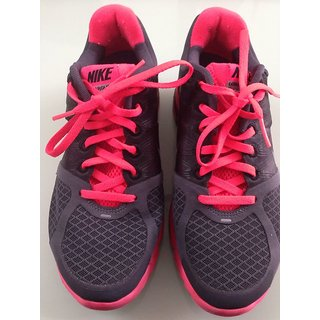 Nike Mens Casual Shoes Black & Pink UK4