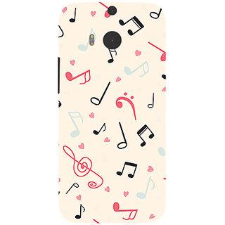 Garmor Designer Silicone Back Cover For Htc One M8 786974257809