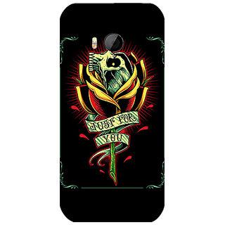 Garmor Designer Silicone Back Cover For Htc One M8 Mini 786974259582