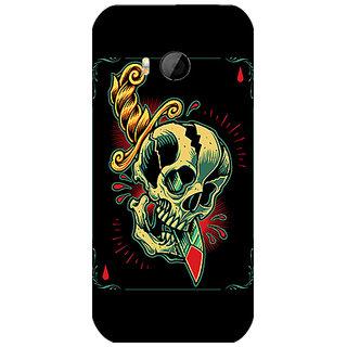 Garmor Designer Silicone Back Cover For Htc One M8 Mini 786974259605