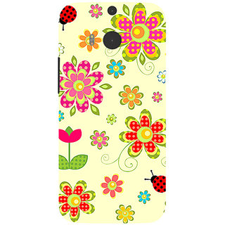 Garmor Designer Silicone Back Cover For Htc One M8 786974257762