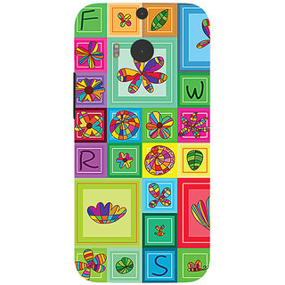 Garmor Designer Silicone Back Cover For Htc One M8 786974257823