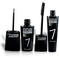 7 HEAVENS PHOTO GENIC WATERPROOF MASCARA  EYELINER  Free Liner  Rubber Band