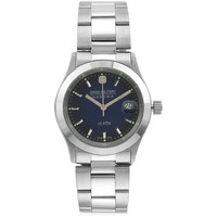 Swiss Military Stainless Steel Blue Women Date Swiss Movement Watch